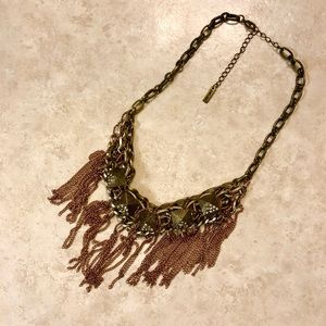 Jewelmint fringe necklace